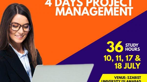 4 days Project Management Workshop